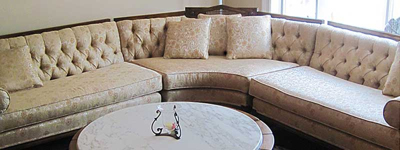 Beautiful Sectional Couch With New Foam Cushions